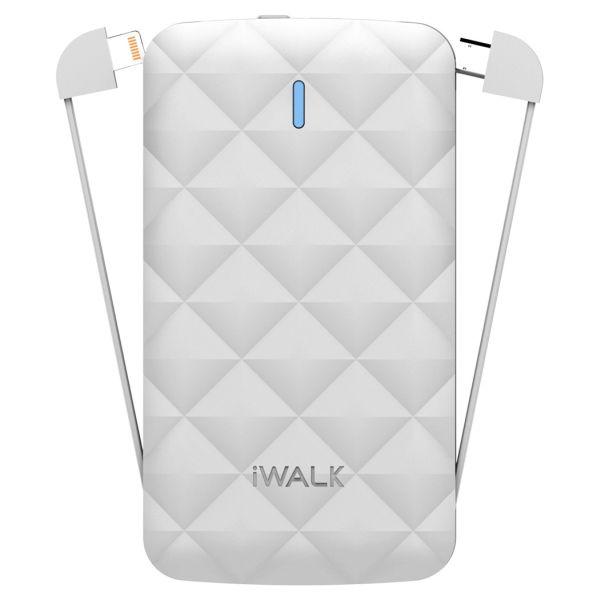 iWalk Duo 3000mAh Powerbank White Image