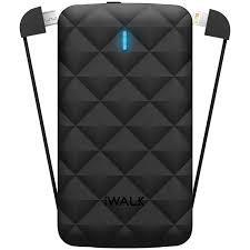 iWalk Duo 3000mAh Powerbank Black Image