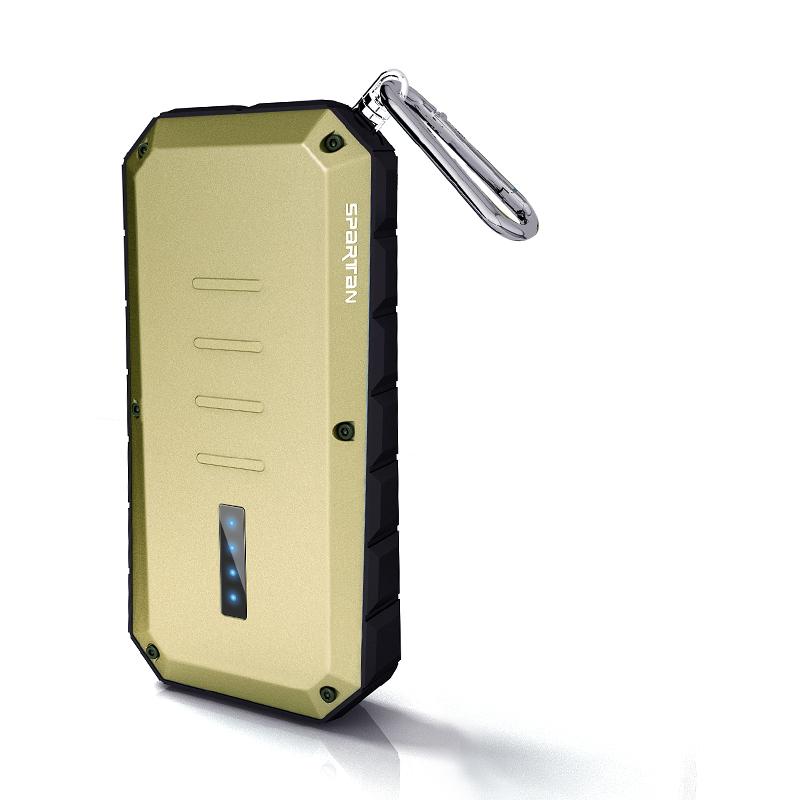 iWalk Spartan 13000mAh Dual USB Gold Image